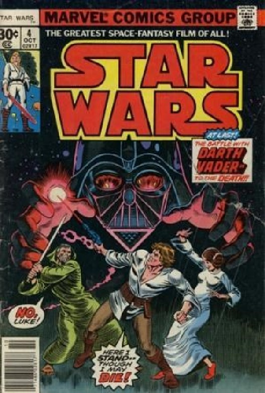 Cover of Star Wars (Vol 1) (Marvel) #4. One of 250,000 Vintage American Comics on sale from Krypton!