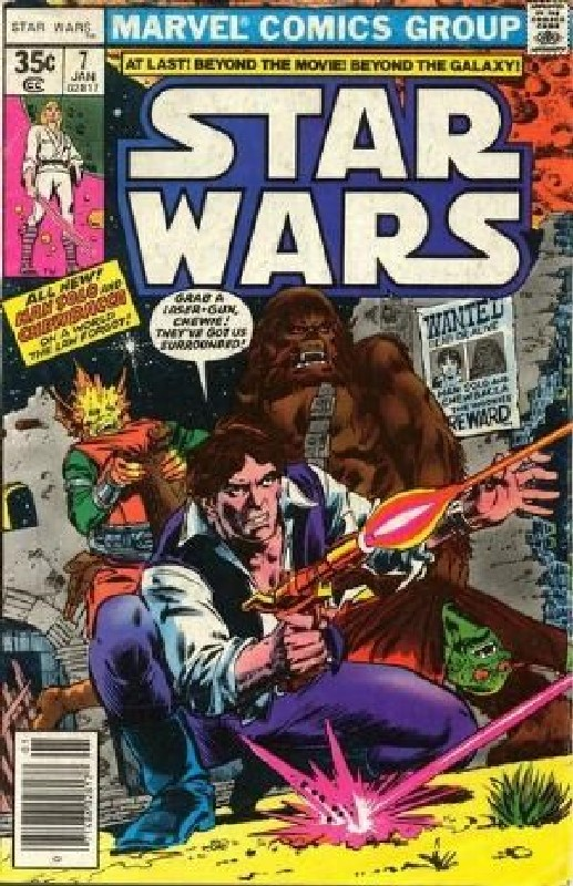Cover of Star Wars (Vol 1) (Marvel) #7. One of 250,000 Vintage American Comics on sale from Krypton!