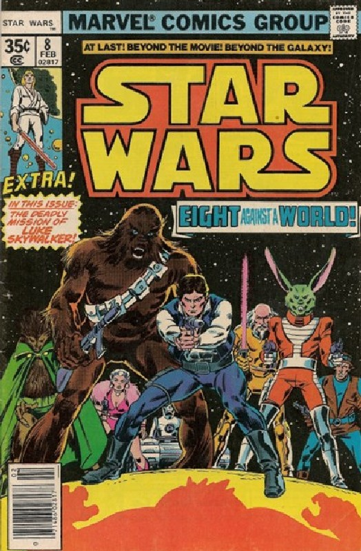 Cover of Star Wars (Vol 1) (Marvel) #8. One of 250,000 Vintage American Comics on sale from Krypton!