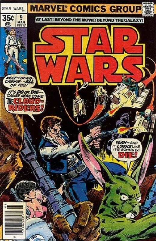 Cover of Star Wars (Vol 1) (Marvel) #9. One of 250,000 Vintage American Comics on sale from Krypton!