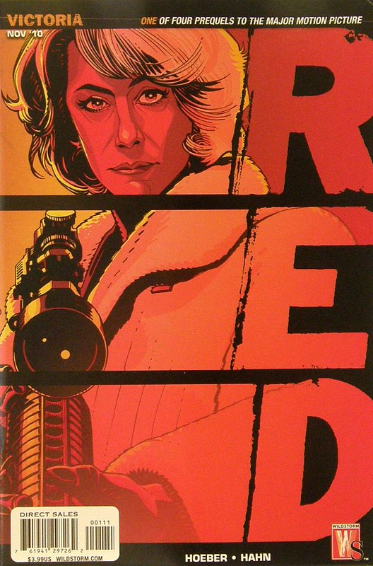 Cover of Red: Victoria Special (2010 One Shot) #1. One of 250,000 Vintage American Comics on sale from Krypton!