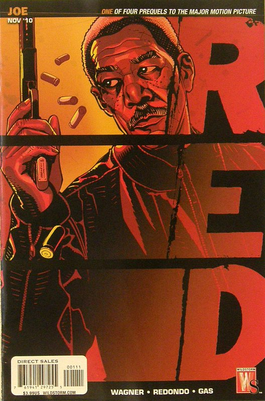 Cover of Red: Joe Special (2010 One Shot) #1. One of 250,000 Vintage American Comics on sale from Krypton!