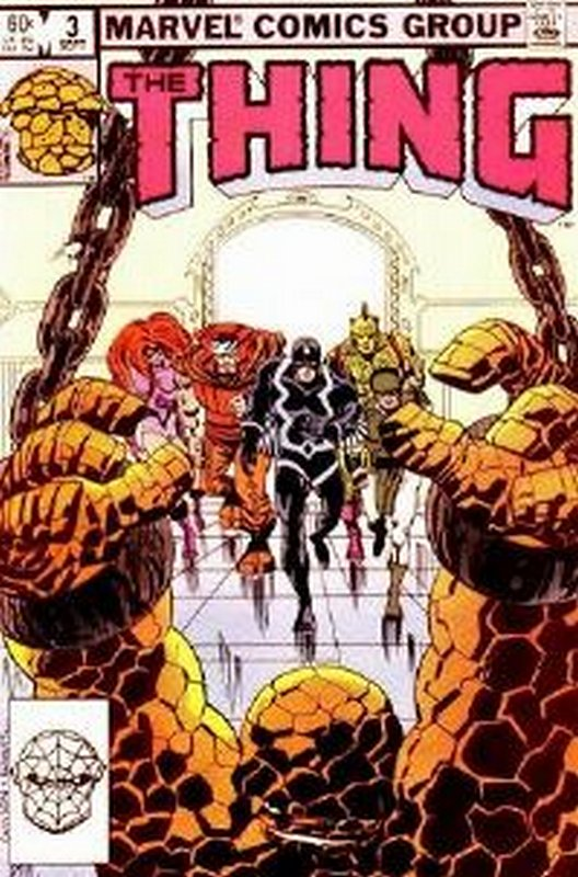 Cover of Thing (Vol 1) #3. One of 250,000 Vintage American Comics on sale from Krypton!