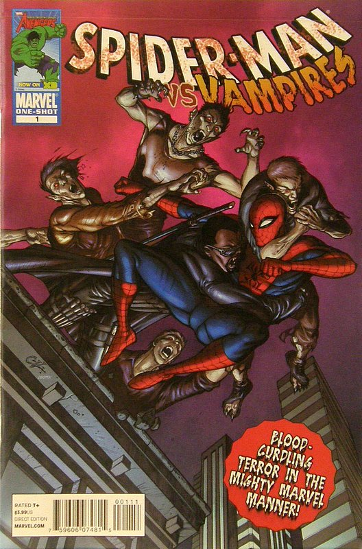 Cover of Spider-Man vs Vampires (2010 One Shot) #1. One of 250,000 Vintage American Comics on sale from Krypton!