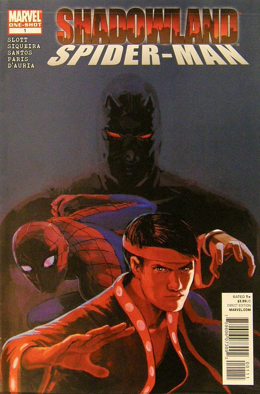 Cover of Shadowland: Spider-Man (2010 One Shot) #1. One of 250,000 Vintage American Comics on sale from Krypton!