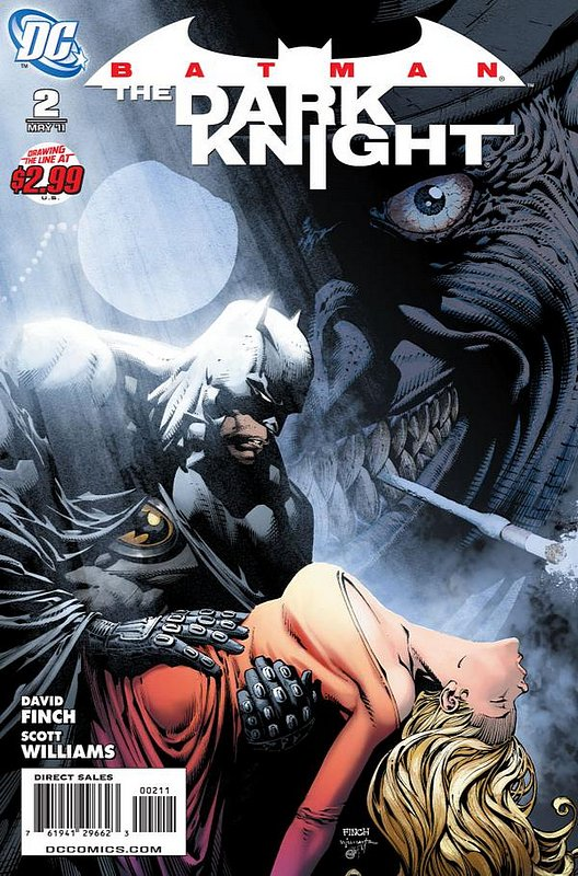 Cover of Batman: The Dark Knight (Vol 1) #2. One of 250,000 Vintage American Comics on sale from Krypton!