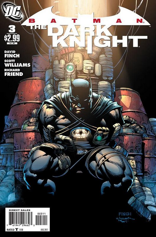 Cover of Batman: The Dark Knight (Vol 1) #3. One of 250,000 Vintage American Comics on sale from Krypton!