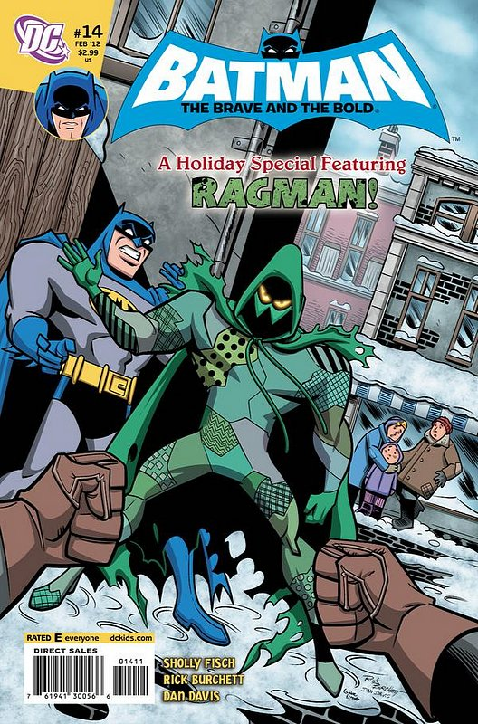 Cover of Batman: Brave & the Bold (Vol 2) All-New #14. One of 250,000 Vintage American Comics on sale from Krypton!