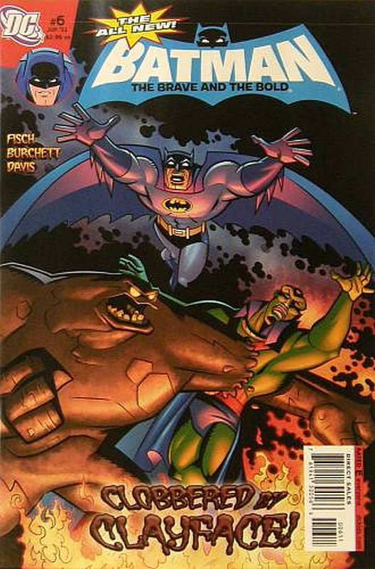 Cover of Batman: Brave & the Bold (Vol 2) All-New #6. One of 250,000 Vintage American Comics on sale from Krypton!