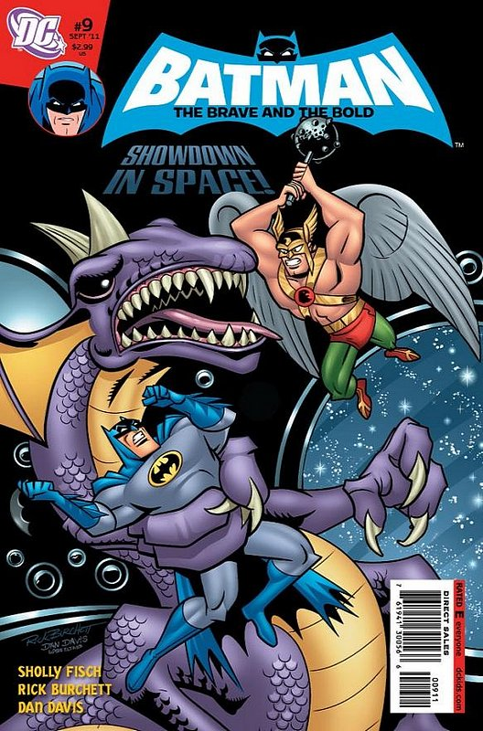 Cover of Batman: Brave & the Bold (Vol 2) All-New #9. One of 250,000 Vintage American Comics on sale from Krypton!