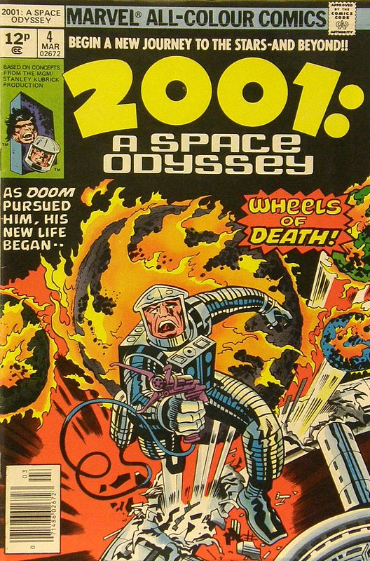 Cover of 2001: A Space Odyssey (Vol 1) #4. One of 250,000 Vintage American Comics on sale from Krypton!