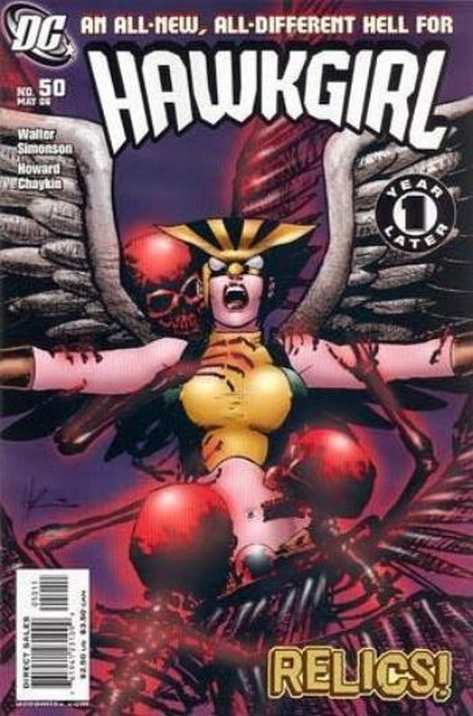 Cover of Hawkgirl (Vol 1) #50. One of 250,000 Vintage American Comics on sale from Krypton!