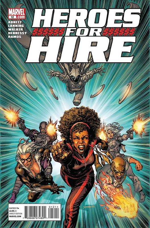 Cover of Heroes for Hire (Vol 3) #12. One of 250,000 Vintage American Comics on sale from Krypton!