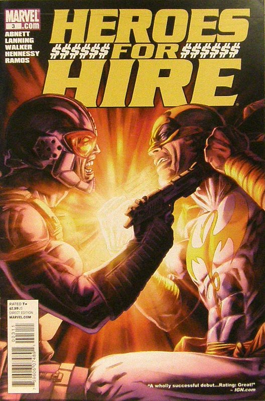 Cover of Heroes for Hire (Vol 3) #3. One of 250,000 Vintage American Comics on sale from Krypton!