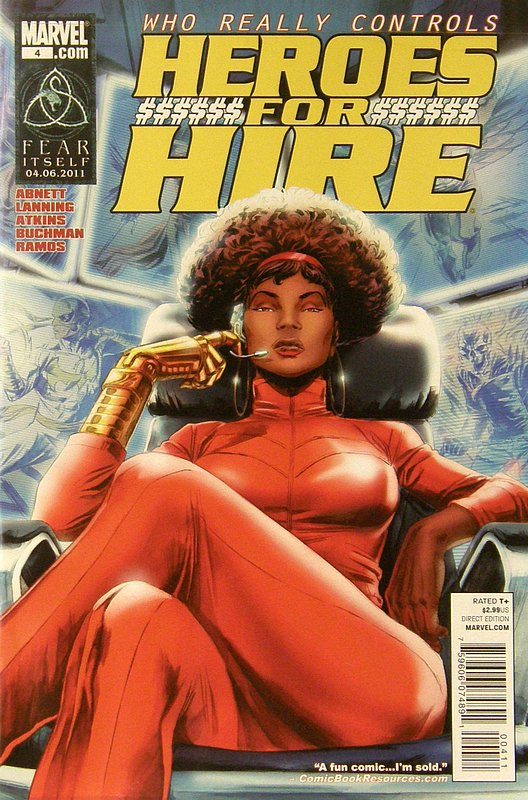 Cover of Heroes for Hire (Vol 3) #4. One of 250,000 Vintage American Comics on sale from Krypton!