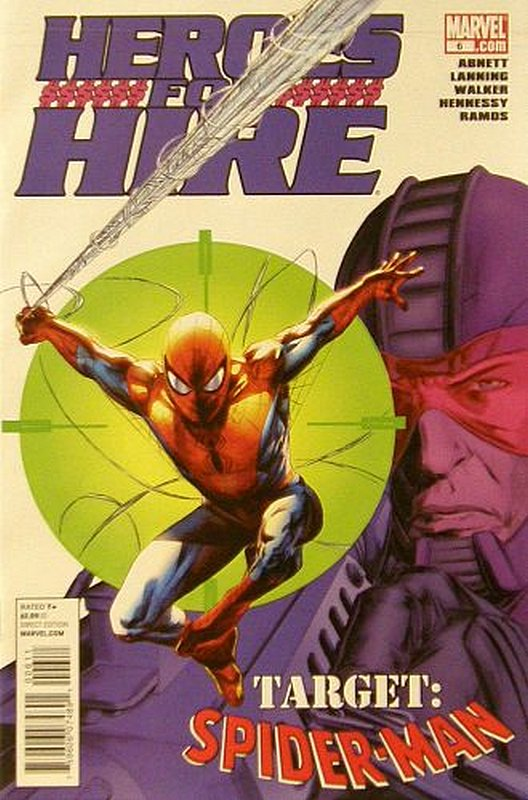 Cover of Heroes for Hire (Vol 3) #6. One of 250,000 Vintage American Comics on sale from Krypton!