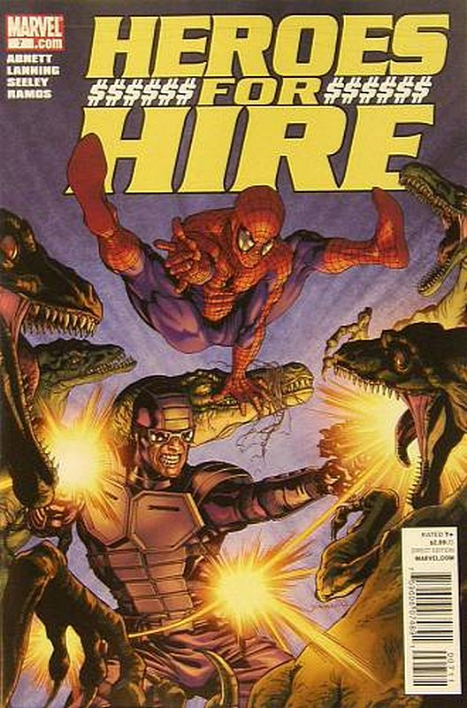 Cover of Heroes for Hire (Vol 3) #7. One of 250,000 Vintage American Comics on sale from Krypton!