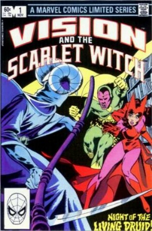 Cover of Vision & Scarlet Witch  (4 Issue Ltd) #1. One of 250,000 Vintage American Comics on sale from Krypton!