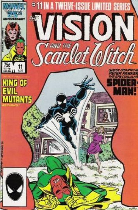 Cover of Vision & Scarlet Witch (1985 Ltd) #11. One of 250,000 Vintage American Comics on sale from Krypton!