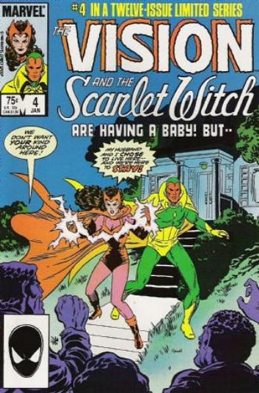 Cover of Vision & Scarlet Witch (1985 Ltd) #4. One of 250,000 Vintage American Comics on sale from Krypton!