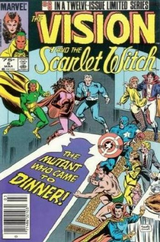 Cover of Vision & Scarlet Witch (1985 Ltd) #6. One of 250,000 Vintage American Comics on sale from Krypton!