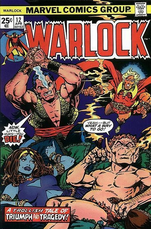 Cover of Warlock (Vol 1) The Power of #12. One of 250,000 Vintage American Comics on sale from Krypton!