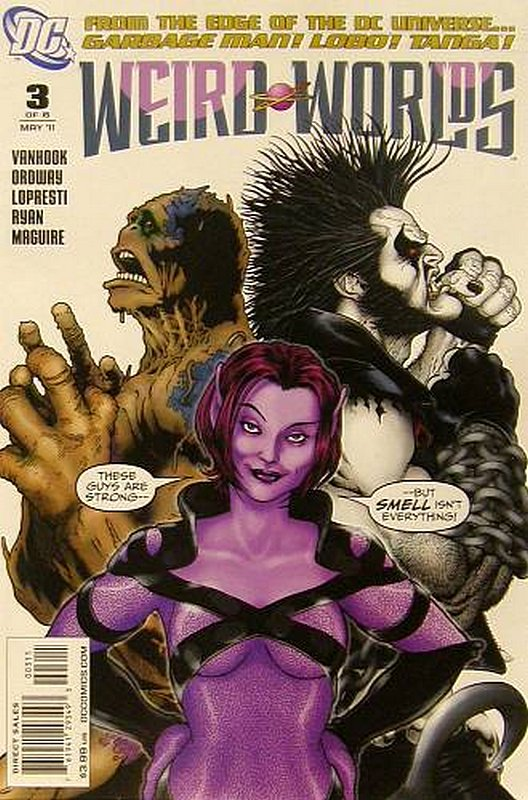Cover of Weird Worlds (2011 Ltd) #3. One of 250,000 Vintage American Comics on sale from Krypton!
