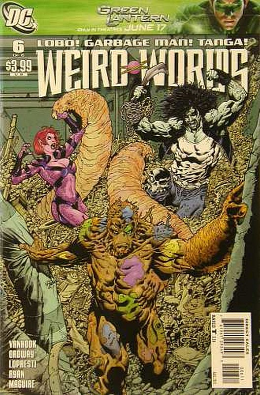 Cover of Weird Worlds (2011 Ltd) #6. One of 250,000 Vintage American Comics on sale from Krypton!