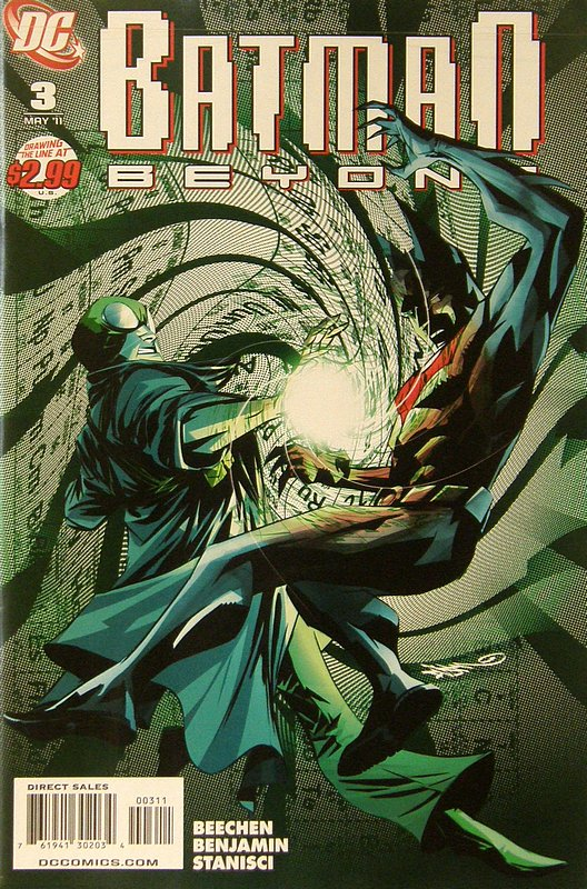 Cover of Batman Beyond (Vol 2) #3. One of 250,000 Vintage American Comics on sale from Krypton!