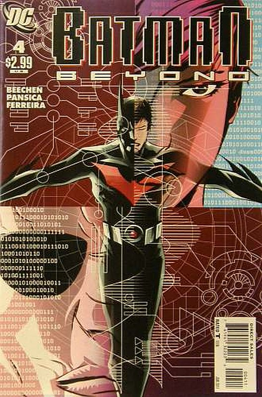 Cover of Batman Beyond (Vol 2) #4. One of 250,000 Vintage American Comics on sale from Krypton!