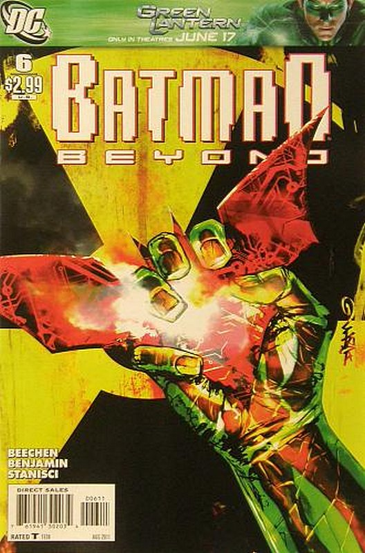 Cover of Batman Beyond (Vol 2) #6. One of 250,000 Vintage American Comics on sale from Krypton!