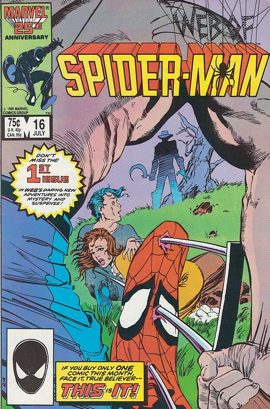 Cover of Web of Spider-Man (Vol 1) #16. One of 250,000 Vintage American Comics on sale from Krypton!