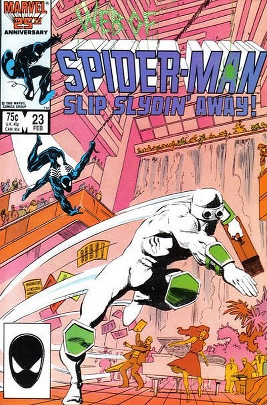 Cover of Web of Spider-Man (Vol 1) #23. One of 250,000 Vintage American Comics on sale from Krypton!