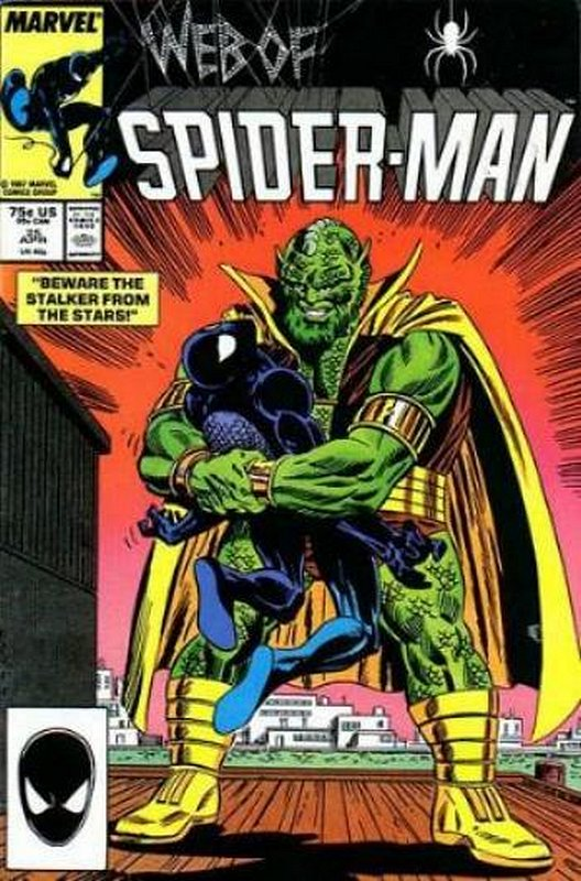 Cover of Web of Spider-Man (Vol 1) #25. One of 250,000 Vintage American Comics on sale from Krypton!