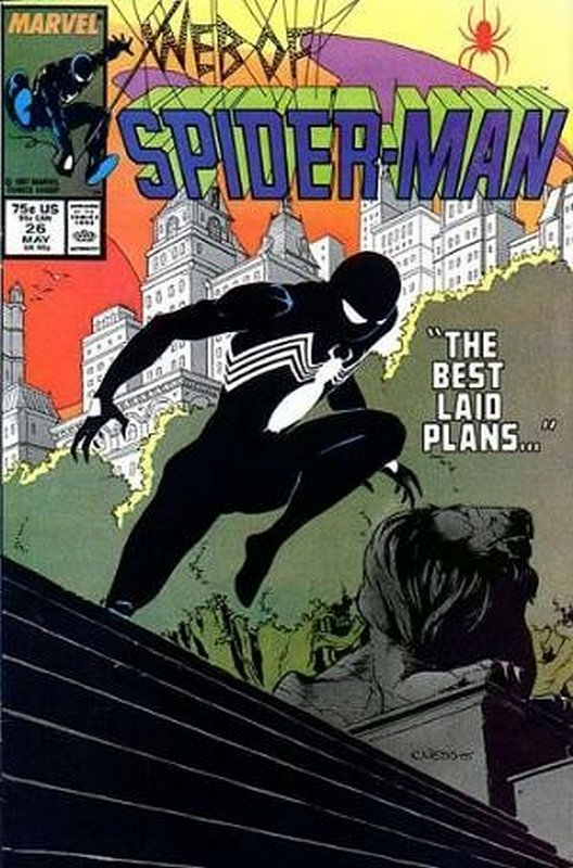 Cover of Web of Spider-Man (Vol 1) #26. One of 250,000 Vintage American Comics on sale from Krypton!