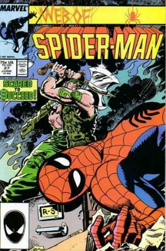 Cover of Web of Spider-Man (Vol 1) #27. One of 250,000 Vintage American Comics on sale from Krypton!