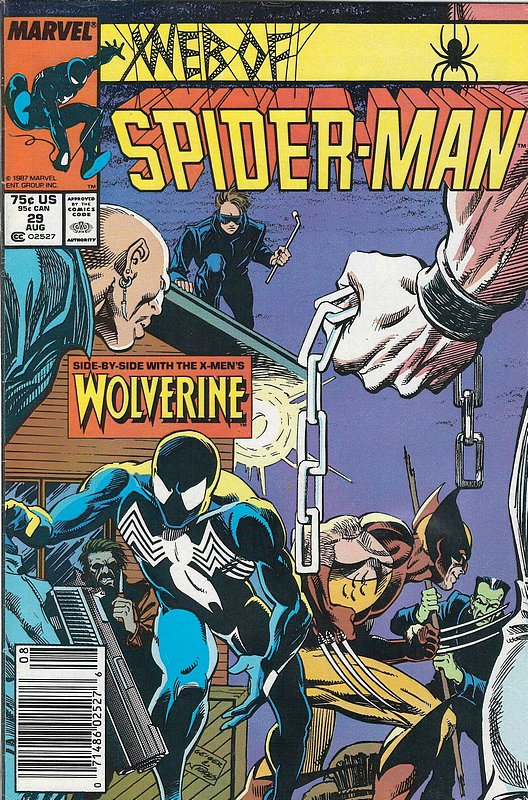 Cover of Web of Spider-Man (Vol 1) #29. One of 250,000 Vintage American Comics on sale from Krypton!