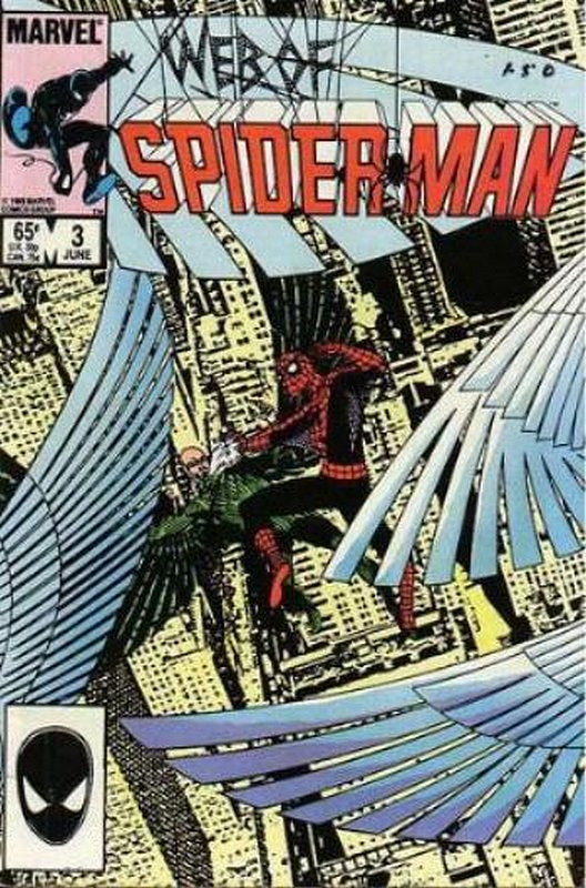 Cover of Web of Spider-Man (Vol 1) #3. One of 250,000 Vintage American Comics on sale from Krypton!