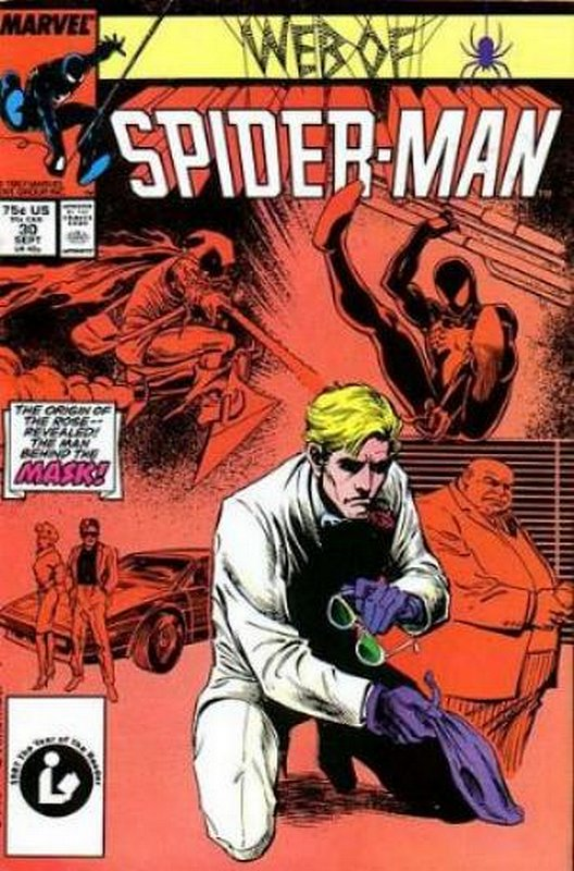 Cover of Web of Spider-Man (Vol 1) #30. One of 250,000 Vintage American Comics on sale from Krypton!