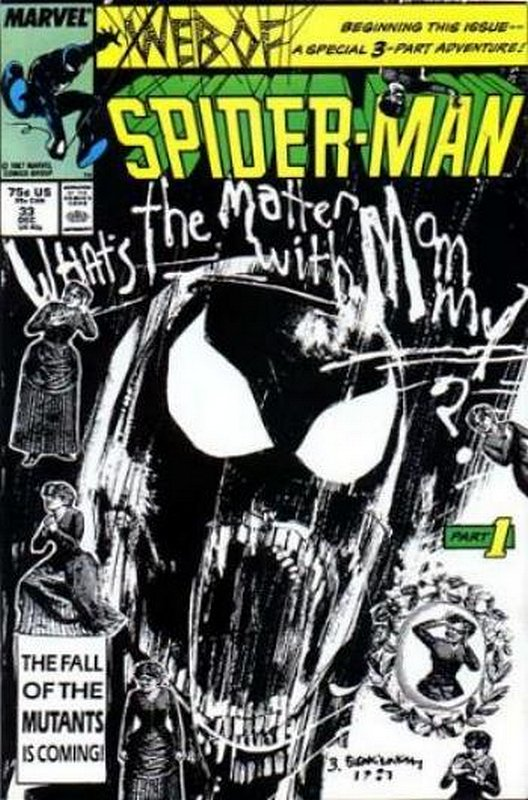 Cover of Web of Spider-Man (Vol 1) #33. One of 250,000 Vintage American Comics on sale from Krypton!