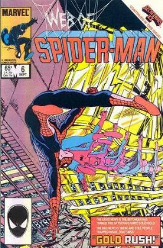 Cover of Web of Spider-Man (Vol 1) #6. One of 250,000 Vintage American Comics on sale from Krypton!