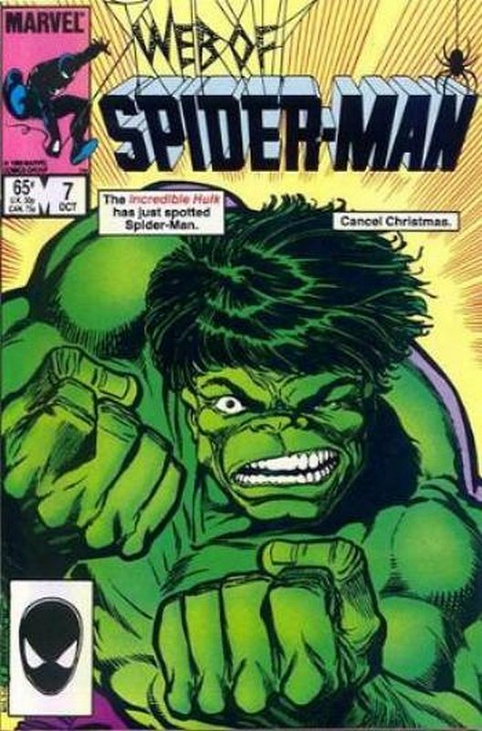 Cover of Web of Spider-Man (Vol 1) #7. One of 250,000 Vintage American Comics on sale from Krypton!