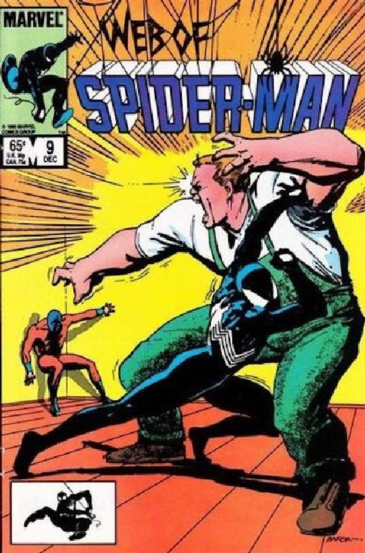 Cover of Web of Spider-Man (Vol 1) #9. One of 250,000 Vintage American Comics on sale from Krypton!