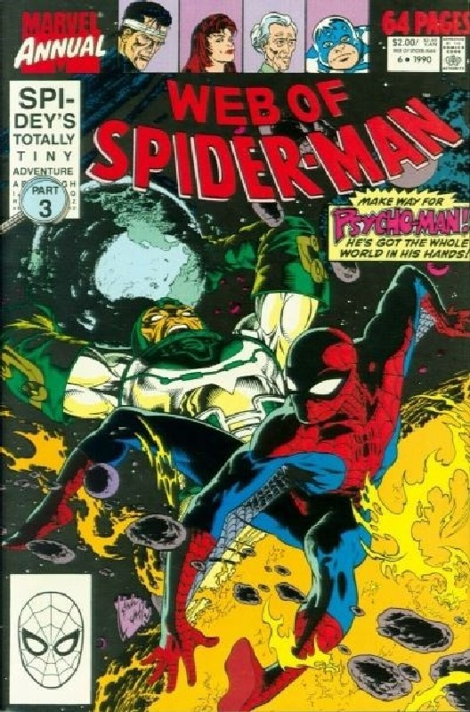 Cover of Web of Spider-Man Annual (Vol 1) #6. One of 250,000 Vintage American Comics on sale from Krypton!