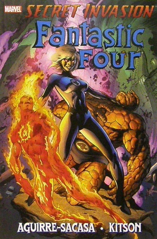 Cover of Secret Invasion: Fantastic Four (GN) (Softback) #1. One of 250,000 Vintage American Comics on sale from Krypton!