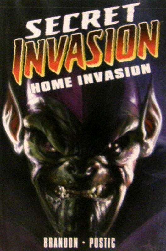 Cover of Secret Invasion: Home Invasion (GN) (Softback) #1. One of 250,000 Vintage American Comics on sale from Krypton!