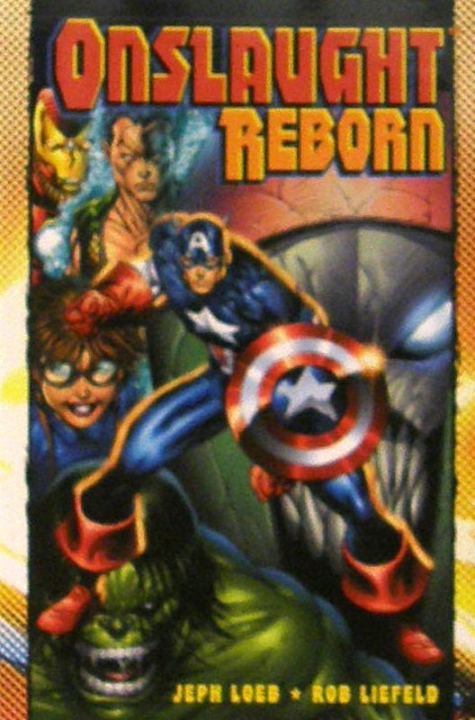 Cover of Onslaught Reborn (GN) (Softback) #1. One of 250,000 Vintage American Comics on sale from Krypton!