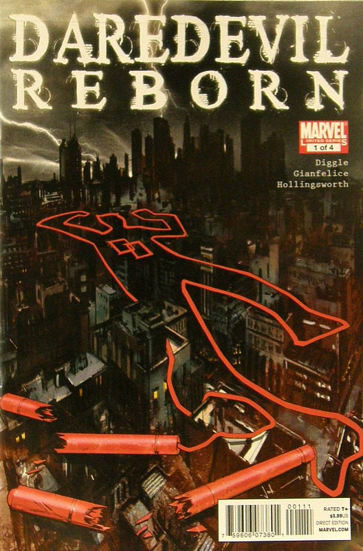 Cover of Daredevil: Reborn (2012 Ltd) #1. One of 250,000 Vintage American Comics on sale from Krypton!