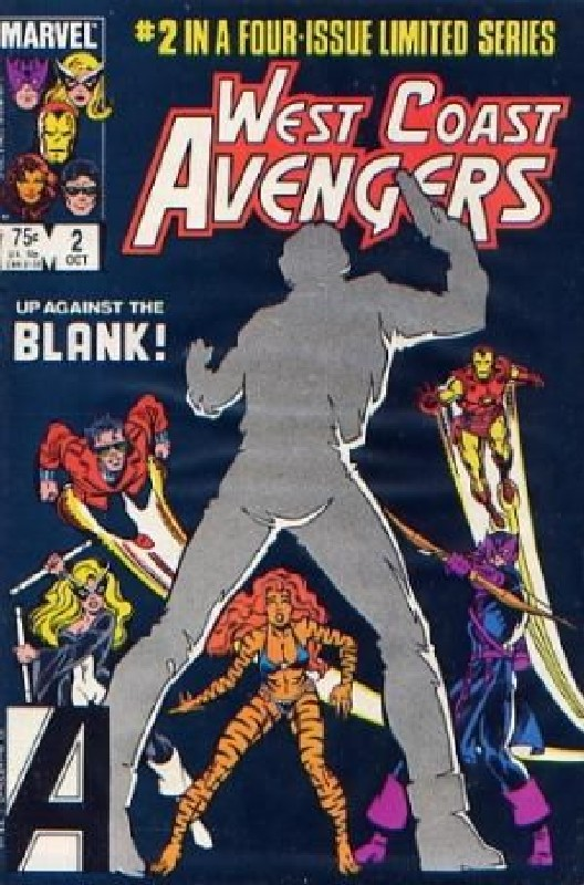 Cover of West Coast Avengers (1984 Ltd) #2. One of 250,000 Vintage American Comics on sale from Krypton!