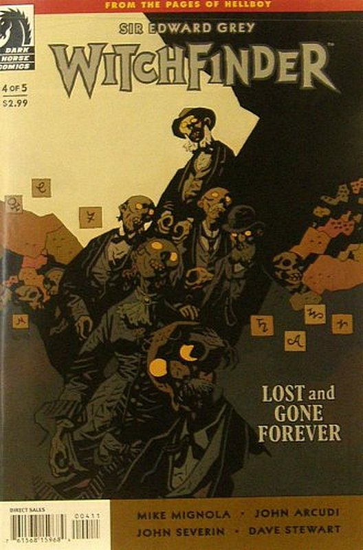 Cover of Witchfinder: Lost & Gone Forever #4. One of 250,000 Vintage American Comics on sale from Krypton!